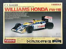 Vintage Kyosho F1 Racer 1/18 Williams Honda FW-11B RC Formula One 1