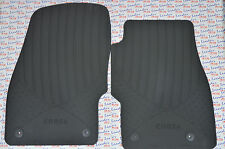 GENUINE Vauxhall CORSA D & E - RUBBER CAR FLOOR / CARPET MATS - FRONT - NEW