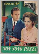 I ROMANZI DI SOGNO N.214 NON SONO PAZZA photostory fotoromanzo 1965