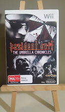 Resident Evil The Umbrella Chronicles - Nintendo Wii - PAL - FREE SHIPPING