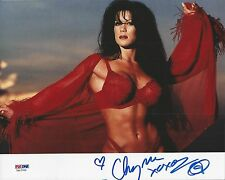 "Joanie ""Chyna"" Laurer signed 8x10 Photo  PSA/DNA Cert# 7A12763"