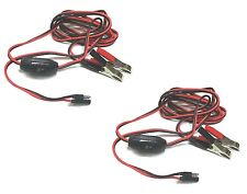 (2) 8 ft. WIRING HARNESS Power Plug Kit for 12V Demand / Diaphragm Water Pumps