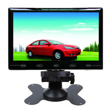 "7"" Ultra Thin HD 800*480 TFT LCD Color 2-CH Input Car Rear View Headrest Monitor"