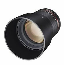 Samyang 85mm F1.4 AS IF UMC f. Canon EOS 1300D 750D 760D 70D 80D 7D 5D ! 85 mm