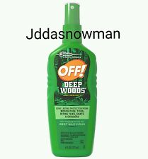 OFF! Deep Woods Insect Repellent VII 6 Fluid Ounces