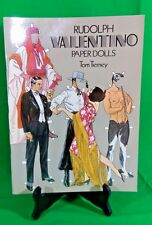 Vintage Dover Tom Tierney Rudolph Valentino Paper Dolls Book - UNCUT