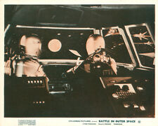 Battle in Outer Space Original Lobby Card Japanese spaceship Uchû daisensô 1959