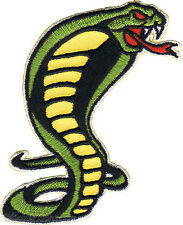 Cobra Snake PATCH Iron on Embroidered Artist Reed RDP7