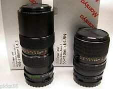 Mamiya 645 PRO TL / 645 PRO / 645 SUPER / M645 105-210mm/4.5 ZOOM LENS