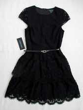 NWT Guess by Marciano black Charlene lace party cocktail dress size XS