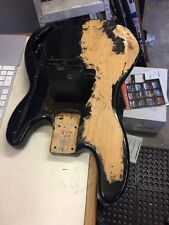 1998 Fender Precision Bass Body Solid Ash Wood Luthier Parts Project