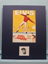"Elvis Presley in ""Girl Happy"" honored by the Elvis Presley stamp"