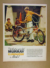 1969 Murray Eliminator Mark I Bike bicycle color photo vintage print Ad