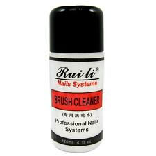 120ML 4oz Professional ACRYLIC BRUSH CLEANER CLEANSER for NAIL ART PEN REMOVER