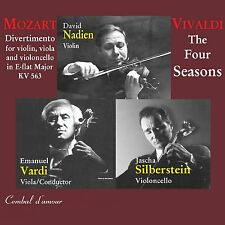 David Nadien Plays Mozart and Vivaldi / CD (neu, OVP)