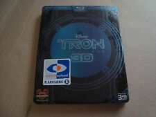 TRON 3D Blu-Ray SteelBook RARE & OOP Limited Edition NEW & SEALED Fnac exclusive