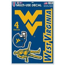 WEST VIRGINIA MOUNTAINEERS MACBOOK LAPTOP MULTI USE REMOVABLE REUSABLE DECALS