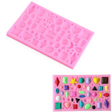 Jewel Gem Diamond  Silicone Fondant Mold Cake Mould Edge Decoration Barkware