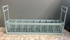 WHIRLPOOL DISHWASHER BLUE SILVERWARE BASKET PART # 4171553 8519598 Side Load