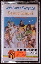 Leroy Smart-Jah Loves Everyone LP CASSETTE BURNING SOUNDS REGGAE SEALED OOP