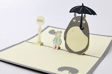 3D My Neighbour Totoro Greeting Birthday Cards Pop Up Cards for All Occasions