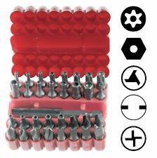 33pc Security Tamper Proof Bit Set Torx Hex Star Spanner Screwdriver US SHIPPER