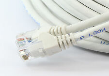 5m RJ45 Ethernet Cable CAT6 Fast Gigabit Network WHITE Xbox PS4 Smart SKY TV