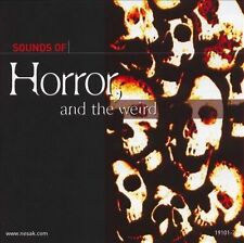 Sound Effects: Horror & Science Fiction by Various Artists (CD, Nov-1995,...