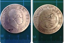 1817 KING GEORGE III HALF CROWN SILVER COIN.