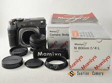 Mamiya 7 Medium Format SLR Film Camera + N 80mm f/4 L [NEVER USED] (8733)