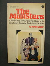 Vintage 1964 The Munsters by Morton Cooper TV Tie-In Paperback Book