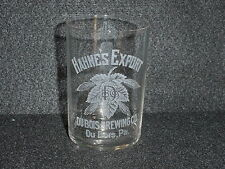 DUBOIS BREWING CO. Etched Glass - Dubois, PA - Pre Pro