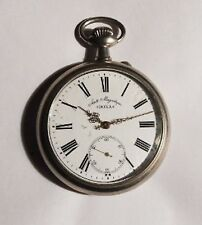 Antique rare Doxa Anti-Magnetique Giant  Extra Large Pocket Watch  2
