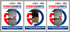 Moto-Guzzi V35 350 Florida  Front & Rear Brake Pads Full Set (3 Pairs)