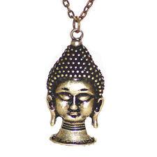 New Alloy Retro Lucky Brand Buddha pendant chain Retro Necklace