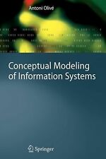 Conceptual Modeling of Information Systems by Antoni Olivé (2010, Paperback)