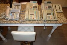 Lot of 6 Nortel Norstar Meridian M7324 and M7310 Business Telephones + Expansion