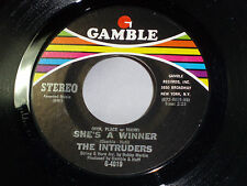 Intruders: She's a Winner / Memories are Here to Stay  [Unplayed Copy]