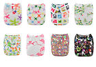 New Alva Baby Cloth Diaper Washable Reusable Nappy One Size Pocket + 1 Insert