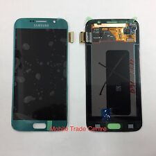 Genuine Samsung s6 g920f Galaxy TOUCHSCREEN LCD 100% Originale Blu
