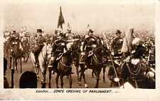 P.C State Opening Of Parliament London R P