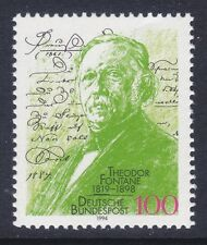 Germany 1876 MNH 1994 Theodore Fontane - Poet Issue