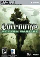 Call of Duty 4 Modern Warfare Mac New Sealed