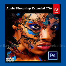 Adobe Photoshop CS6 32/64 bits Versión Completa-con llave oficial Descargar PC y Mac