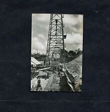 C1946 Original Photo of a Drilling Rig Located in Bali.