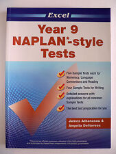 Excel  NAPLAN-style Tests: Year 9 by James Athanasou (Paperback, 2010)