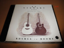AL STEWART cd LIVE peter white RHYMES IN ROOMS soho nostradamus YEAR OF THE CAT