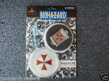 Brand New BIOHAZARD Umbrella Memory Card Resident Evil Limited Edition HORI PS2