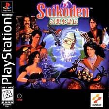 Suikoden - PS1 PS2 Playstation Game