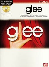 Play-Along Glee Learn to Play Pop Rock Songs Tunes VIOLA Music Book & CD